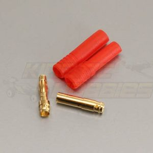 4mm gold plated connector