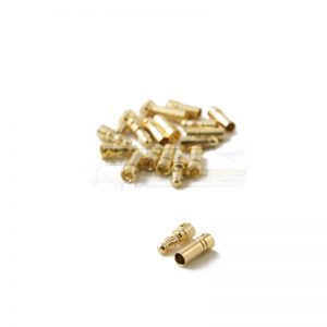 3.5mm gold plated bullet connectors